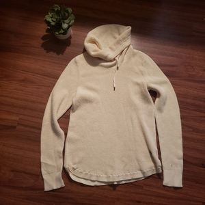Cowl Waffle Knit Ralph Lauren Sweatwer Small